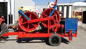 Timberland 2X4 Tonluk Fren Makinesi