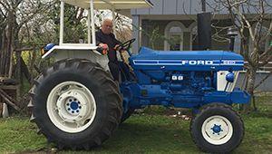 1984 Model FORD 6610 Tam Balon Lastik Traktör